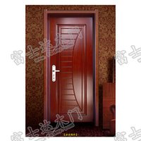 Wholesale Fushida solid wood composite door sound insulation of green wood