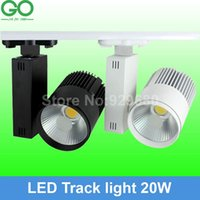 Wholesale LED Track Light W COB Rail Light Spotlight strip Equal to w Halogen Lamp v v v v v