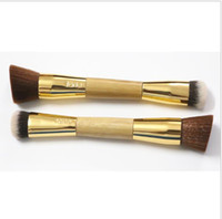 Wholesale Brand Tarte the slenderizer bamboo contouring brush Synthetic Hair powder makeup brushes kit pinceis maquiagem