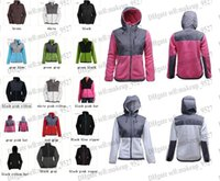 sports jackets - 2015 New The Women Fleece Apex Bionic SoftShell Jacket Winter Coats Outdoor Sports Clothing Coats S XXL Black Can Mix Lowest Price