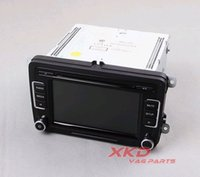 Cheap OEM Original RCD510 Car Radio w  Code Reverse-Image AUX in USB CD MP3 For VW Jetta Golf GTI MK5 MK6 Passat B6 B7 Tiguan Polo Eos