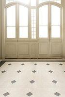 vinyl floor tile - 6 Ft Ft cm cm Bright Plaid Tile Floor Door Background Spacious Gate Indoor Vinyl Photography Backdrop S