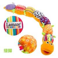 New Born Baby Multicolor Unisex Soft Musical relleno felpa Juguetes para bebés Música Educación multifunción para Orugas