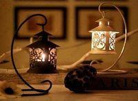 Wholesale New Iron Moroccan Style Candlestick Candleholder Candle Tea Light Holder Decor