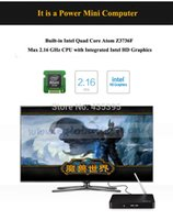 best intel atom - Best Pipo X7 Mini PC TV Box Windows OS Intel atom Z3736F Quard Core G RAM G ROM Wifi Bluetooth TF With Bing TV Player