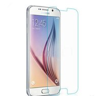 Wholesale 1000pcs With Retail Package for Samsung Galaxy S6 mm Premium Real Front Tempered Glass Film Screen Protector