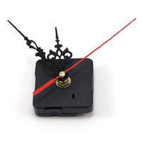 Wholesale 1 SET Black Quartz Clock Movement Mechanism DIY Repair Replacement Parts Kit Luminous luminescent Green Hands Silent Hot