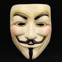 Wholesale NEW ANONYMOUS V FOR VENDETTA GUY FAWKES FANCY DRESS COSTUME FACE MASK New Style
