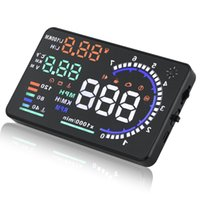 Wholesale Universal A8 Multi function Car HUD Vehicle Mounted Head Up Display OBD II EOBD System Model Display BS88