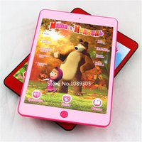 talking toy - educational toys Russian Language Talking Masha and Bear Toys Repeats Interactive Tablet Toys
