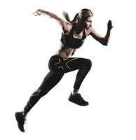 Wholesale Sport XU Women Compression Black Blue Trousers Breathable Superelastic Joggers Marathon Running Fitness Leggings