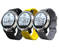 age swimming - NEW F69 Waterproof Smart Watch Professional IP68 Swimming Mode Intelligent Healthy Heart Rate Bracelet for IOS Android Phone