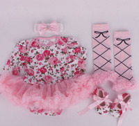 baby stripe legging - baby girl infant toddler piece outfits flower floral onesies romper tutu lace legging leg warmer headband shoes zebra stripe sets