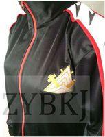Wholesale Free Iwatobi Swim Club Rin Matsuoka cosplay costume plus size sport Jacket Coat Cosplay Costume Samezuka Academy Logo