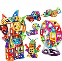 Wholesale Kids Toys Educational Magformers Magnetic Toy Creative Bricks Toys For Children D DIY Building Assembling Blocks
