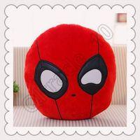 Cheap 100pcs LJJC3492 High Quality 40cm X-Men Deadpool Stuffed Animals Toys Hold Pillow Cute PP Cotton Plush Toys Deadpool Cushion Throw Pillow