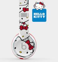 headphones beat - 2015 Solo Hello Kitty headphone NEW Version headsets On ear Headphones Earphones for iPhone iPod ipad OY