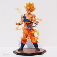 wood dragon - cm Dragon Ball Z Super Saiyan Goku Son Gokou Boxed PVC Action Figure Model Collection Toy Gift