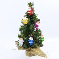 Cheap Tabletop Christmas Tree Ornaments Christmas Furnishing Articles Table decoration Bonsai DIY Decorative Christmas trees Window display