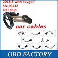 Wholesale with full set car cable and OKI CHIP for autocom cd cdp scanner cdp pro