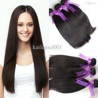 Cheap Chinese human hair Best hair weave straight