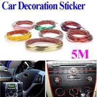 Wholesale 10M Car Auto Decoration Sticker Thread indoor pater Car Interior Exterior Body Modify Decal Colors Drop Shipping