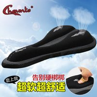 Wholesale New Cycling Bike Saddle Comfortable Cushion Soft Pad Bicycle Seat Cover with silica gel bike saddle cover factory direct sale