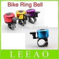 Cheap 2000pcs lot # Mini Metal Ring Handlebar Bell Sound for Bike Bicycle Ring Bell Colorful Free shipping
