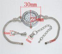 analog extender - car Rhinestone Watch W Extender Chains Fit European Beads Fashion Watches Cheap Fashion Watches Cheap Fashion Watches