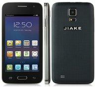 Wholesale JIAKE G900W Mini Android G Smartphone inch WVGA Screen SC7715 GHz Dual Cameras Dual Sim Card Cell Phone DHL free ship YEYS