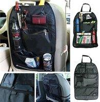 Wholesale Portable Black Bag Car Auto Care Seat Cover Storage Bag Adjustable Pouch For Children Kick Mat