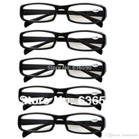Wholesale 5 Pairs Unbreakable Black or Tortoiseshell Mens Womens Durable Reading Glasses Eyewear Longsighted Lenses Strength to