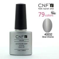 best chrome polish - Siliver Chrome Choose CNF UV Gel Nail Polish UV Gel Days Long Lasting Gorgeous Colors The Best Gel Polish