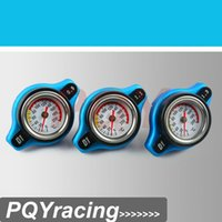 Wholesale J2 RACING STORE D1 Spec RACING Thermost Radiator Cap COVER Water Temp gauge BAR or BAR or BAR Cover