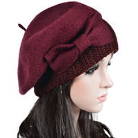dress material - Latest Wool Beret Best Polyester Material Comfortable Ladies Dress Hats Trendy Unisex Winter Hats for Women Men HY022