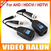 audio transceiver - High Definition Transceiver Power Video Audio Via UTP And RJ45 Ch Video Balun BNC Passive For P P AHD CVI TVI Camera