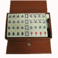 Wholesale M00B mm Mini Mahjong Mah jong Mah jongg Mah jong Games Carved Tile in fabric case with Acrylic tiles