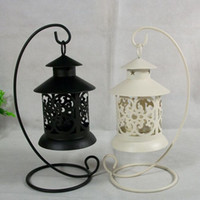 Wholesale 2015 hot Promotions Morocco Iron Candlestick European classical retro hollow creative crafts ornaments wedding home C99