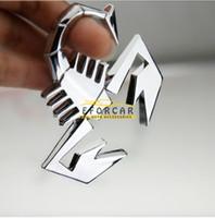 auto badge adhesive - Cool Metal D Scorpion Car Auto Badge Emblem Logo Sticker Adhesive