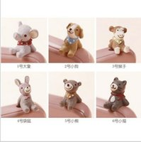 Wholesale new animal Phone mm Generic Dust plug puppy monkey kangaroo Cubs kitten Samsung Millet Phone dust plugs Cell Phone Anti Dust Gadgets