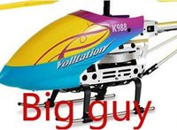 Cheap High quality with light Original big guy 45cm 3.5 CH remote control RC helicopter model toys with gyro !