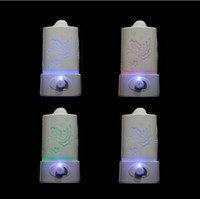 Wholesale Aromatherapy diffuser air humidifier LED Night With Carve Design Ultrasonic humidifier air Aroma Diffuser mist maker