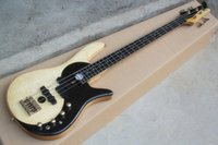 Cheap Original and Black Electric Bass Best Solid New gold hardware