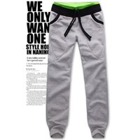 big men pants - Slim Casual Trousers Big Drop Crotch Sweatpants Dance Hip Hop Men Harem Pants Emoji Joggers Jogging Pants Men Joggers Sarouel