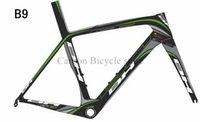 bh - High Quality green black carbon frame BH G6 carbon road frame cycling cuadro carbono bicicleta mendiz carbon frame