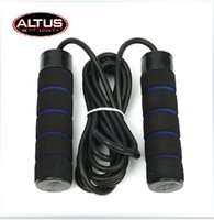 Wholesale Hot sale ALTUS rope skipping professional Jump rope skipping for women man to loss weight rope handle jump rope fast