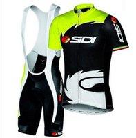 clothing new jersey - NEW SIDI Sportswear Mountain Bike Ropa Ciclismo MTB Bicycle Wear Cycling Jersey clothing Shirt Bib Shorts sets