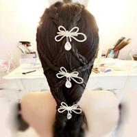 Wholesale Sparkling Rhinestone Flower Bridal Hair Headdress Suits Beautiful Wedding Dress Hari Accessories Wedding Supplies Party Prom Hair Ornaments