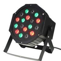Wholesale Light Laser Projector High Power W LED Stage Light RGB Par Light DMX Party DJ Disco ball Strobe