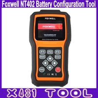 auto battery services - High Quality Foxwell NT402 Battery Configuration Tool Automotive Battery Tester Smart Battery Replacement Tool Auto Service Scanner